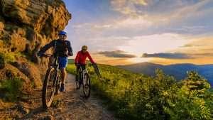 Mountain Biking during COVID