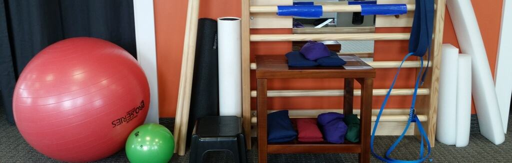 Exercise equipment for doing the Schroth Method and scoliosis exercise