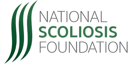 National scoliosis foundation logo